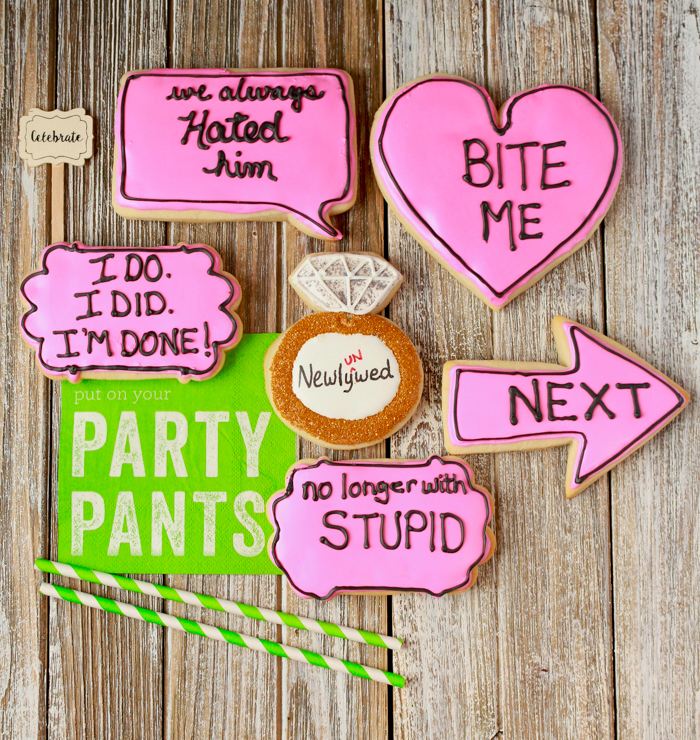 Divorce Party Cookies Regina